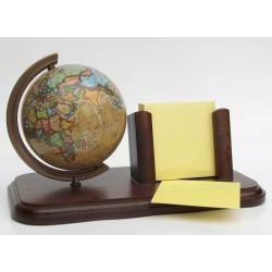 Globus przybornik na kartki