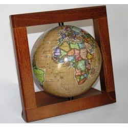 Globus w ramce