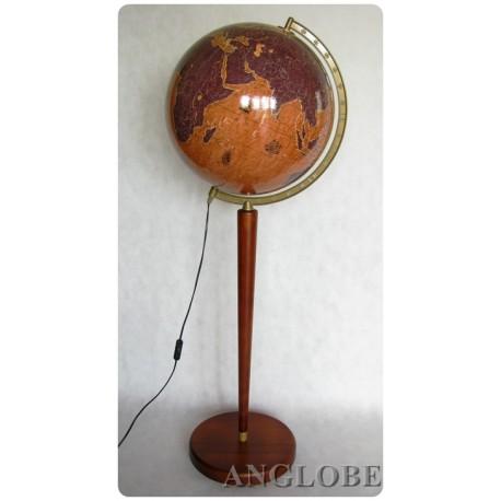Globus 420 Żaglowce Podświetlany Nowoczesny