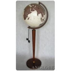 Globus 320 Antyczny Podświetlany Nowoczesny