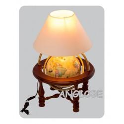 Globus 250 Trasami Odkrywców kolumnowy stołowy z lampką