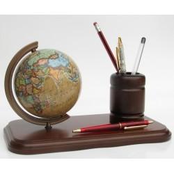 Globus kubek na długopisy