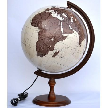 Globus 320 Antyczny Podświetlany