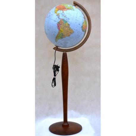 Globus 320 Polityczno - Fizyczny podświetlany