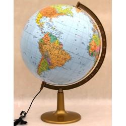 Globus 420 Polityczno - Fizyczny Podświetlany