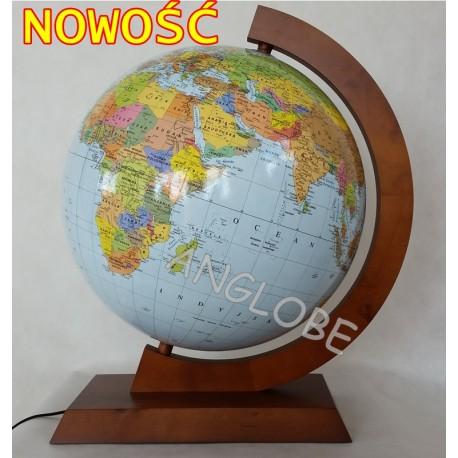Globus 420 Polityczno-Fizyczny podświetlany dr opr