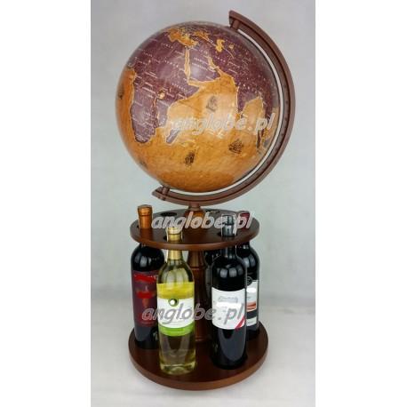 Globus 320 - Obrotowy stojak na wino - Żaglowce