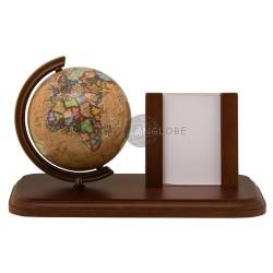 Globus ramka na zdjęcia